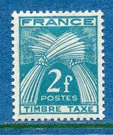 France - Taxe - YT N° 82 - Neuf Avec Charnière - 1946 à 1955 - Segnatasse