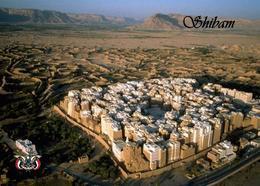 Yemen Old Walled City Of Shibam Aerial View UNESCO New Postcard Jemen AK - Jemen