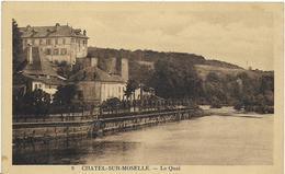 ~ JP  ~  88  ~  CHATEL  SUR  MOSELLE  ~     Le Quai   ~ - Chatel Sur Moselle