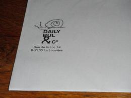 Escargot Daily Bul La Louvière Enveloppe - Programs
