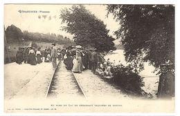 GERARDMER (88) - Au Bord Du Lac En Regardant Taquiner Le Goujon - PECHE À LA LIGNE - Ed. Ad. Weick, Saint Dié - Gerardmer