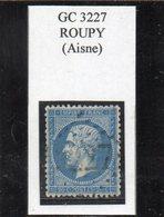 Aisne - N°22 Obl GC 3227 Roupy - 1862 Napoléon III