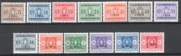 Libia 1934 Segnatasse Sass.12/24 */MH VF/F - Libyen