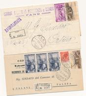 ITALIA AL LAVORO LOTTO DI 5 MISTE CON SERIE TURISTICA - 6. 1946-.. República