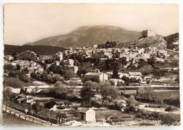 Carte Postale : 84 VAISON LA ROMAINE : Vue Générale Sur La Ville Haute, Au Fond Le Mont Ventoux, Timbre En 1956 - Vaison La Romaine