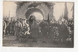 RENNES - MILITAIRES - CIMETIERE DE L'EST - DISCOURS DEVANT LE MONUMENT DU SOUVENIR FRANCAIS - 35 - Rennes