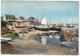 Finistère, Mogueriec En Sibiril, L'Anse - Le Port Et Ses Bateaux De Pêches - 1960 - Autres Communes