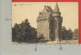CARTOLINA NV BELGIO - BRUXELLES - Porte De Hal - 9 X 14 - Monumenti, Edifici