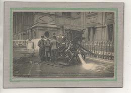 CPA -(75) PARIS - Thème: Pompiers - Aspect De La Grosse Pompe à Vapeur Installée Pour épuiser L'eau Des Sous-sols - 1911 - France