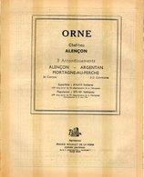 ANNUAIRE - 61 - Département Orne - Année 1951 - édition Didot-Bottin - 84 Pages - Telephone Directories