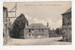 LESBOIS - LA MAIRIE ET LA ROUTE DE L'EPINAY LE COMTE - 53 - France