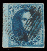 COB N° 4 TB - Belles Marges + Bord De Feuille Très Large - 1849-1850 Médaillons (3/5)