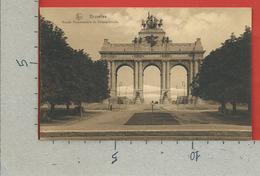 CARTOLINA NV BELGIO - BRUXELLES - Arcade Monumentale Du Cinquantenaire - 9 X 14 - Monumenti, Edifici