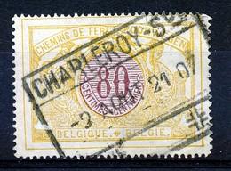 "TR 39 - ""CHARLEROY-Sud"" -  ""ud"" In Kleine Letters/petites Caractères - R ! - (ref. 30.973) - Railway"