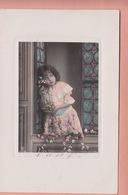OLD PHOTO POSTCARD - CHILDREN - GIRL - FAMOUS MODEL - Portraits