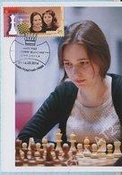 UKRAINE Maxi Card Maxicard Chess. FIDE Sisters Muzychuk World Champions. Lviv. 2016. - Ukraine
