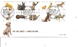 Belgique - Animaux ( FDC De 2010 à Voir) - FDC