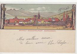 Obernai / Oberehnheim - Weingut Weissenburger - Litho - Sign. - Deutsche Frankatur    (A-192-191026) - Elsass