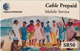 SEYCHELLES  -  Prepaid  - Cable § Wireless  - SR 50 (fine Numbers) - Seychellen