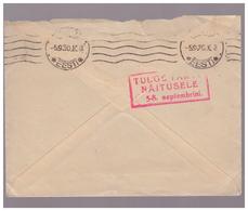 Cover With Advertising Marking,1930 Estland ,Estonia - Estonie