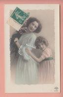OLD PHOTO POSTCARD - CHILDREN - GIRL - FAMOUS GRETE REINWALD - Portraits