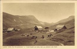 73 - Col Du Glandon (Savoie) - Vue Sur Le Col De La Croix-de-fer - Sonstige Gemeinden
