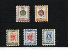 YOUGOSLAVIE 1966 TIMBRE SUR TIMBRE Yvert 1057-1061 NEUF** MNH - 1945-1992 République Fédérative Populaire De Yougoslavie