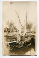 PHOTOGRAPHIE 0024 LA ROCHELLE Bateaux Pecheurs Port Quais   Dim 14  Cm X 8   Cm - La Rochelle