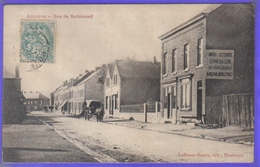 Carte Postale 59. Aulnoye  Rue De Berlaimont  Très Beau Plan - Aulnoye