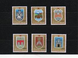 YOUGOSLAVIE 1969 BLASONS Yvert  1249-1251C NEUF** MNH - 1945-1992 République Fédérative Populaire De Yougoslavie