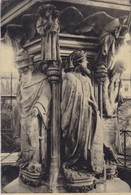 21. DIJON.(ENVOYE DE). CPA . PUITS DE MOÏSE. SUPPORT DE TEXTE MILITARIA DU 13 SEPTEMBRE 1914 - Guerre 1914-18