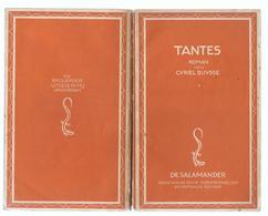 1937 TANTES ROMAN DOOR CYRIEL BUYSSE - DE SALAMANDER - Literature