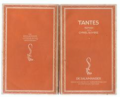 1937 TANTES ROMAN DOOR CYRIEL BUYSSE - DE SALAMANDER - Letteratura