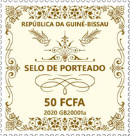 Guinea Bissau.  2020 Selo De Porteado. (0117a)  OFFICIAL ISSUE - Guinée-Bissau