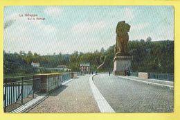 * Gileppe (Liège - Luik - La Wallonie) * (Dr. Trenkler Co, Gil 17) Sur Le Barrage, Stuwdam, Lion, Monument Statue, TOP - Gileppe (Barrage)