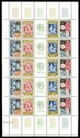 Frankreich Bogen MiNr. 1467-70 Postfrisch MNH Philatec 1964 (GF15033 - Ohne Zuordnung