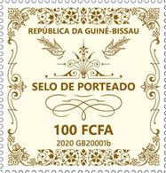 Guinea Bissau.  2020 Selo De Porteado. (0118a)  OFFICIAL ISSUE - Guinée-Bissau