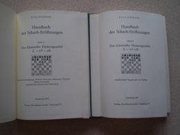 Jeu D' Echecs; Schach. Rolf Schwarz, Das Klassische; Band 2 & 3 - Livres, BD, Revues