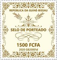 Guinea Bissau.  2020 Selo De Porteado. (0120a)  OFFICIAL ISSUE - Guinée-Bissau