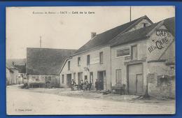 SACY    Café De La Gare   Animées - France