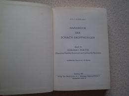 Jeu D' Echecs; Schach. Rolf Schwarz, Handbuch Der Schach Eroffnungen; Band 12 - Livres, BD, Revues