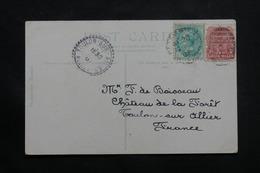 AUSTRALIE - Affranchissement Plaisant De Sydney Sur Carte Postale En 1907 Pour La France - L 54941 - Briefe U. Dokumente