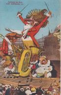 ALPES MARITIMES - Carnaval De Nice - S.M. CARNAVAL L.V.  ( Timbre à Date De 1933 ) - Carnival