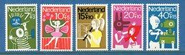 Pays Bas - YT N° 804 à 808 - Neuf Sans Charnière - 1964 - Ongebruikt