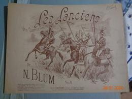 Les Lanciers , Vrai Quadrille Anglais  Par N BLUM - Spartiti