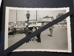 Dunkerque - Photo Originale - Bateau - Feu Sandettie  - BF6 - Inauguration D'un Remorqueur Abeille - - Boten
