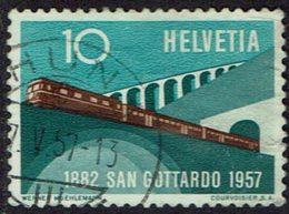 Schweiz, 1957, MiNr 638, Gestempelt - Suisse