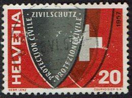 Schweiz, 1957, MiNr 639, Gestempelt - Suisse
