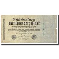 Billet, Allemagne, 500 Mark, 1922, 1922-07-07, KM:74c, TB - [ 3] 1918-1933 : République De Weimar