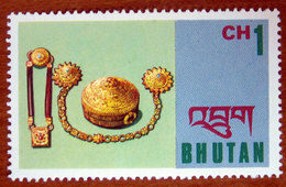 1975 BHUTAN  Arte Artigianato  Jewelry - Nuovo - Bhutan